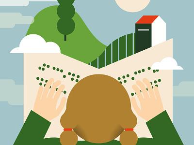 fondazione LIA - braille workshop for children immagination children conceptual braille books reading illustration editorial