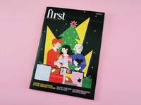 First magazine – Christmas cover