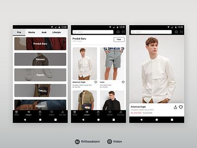 Fashion E-Commerce Mobile App Design mobile app clothingstore e-commerce app fashionstore mobiledesign uxdesign ux mobileapp mobileappdesign uidesign ui design