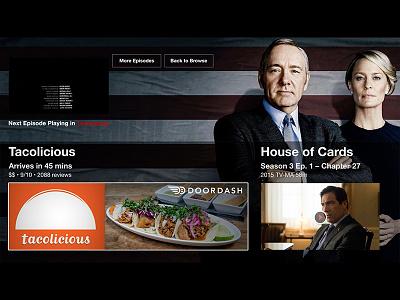 This One Netflix Integration Needs To Happen web design product design ux ui doordash netflix