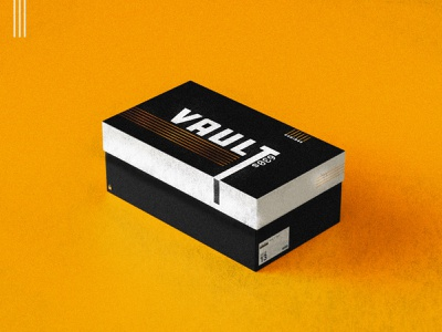 Shoe Box Design lightroomn vector branding shoe design shoe shoebox vault