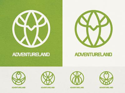 Magic Kingdom's Adventureland Icon mask adventure walt disney world symbol icon iconography icon design symbol icon symbol design symbolism adventureland magic kingdom disney design themepark theme park