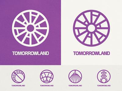 Magic Kingdom's Tomorrowland Icon science fiction sci-fi scifi space mountain walt disney world symbol icon iconography icon design symbol icon symbol design symbolism tomorrowland magic kingdom disney design themepark theme park
