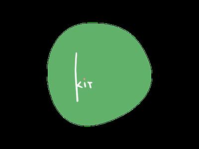 kit logo minimal illustration typography logo