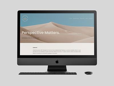 private practice website website design websites design branding ux ui minimal color palette colorful