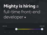 Mighty Frontend Dev