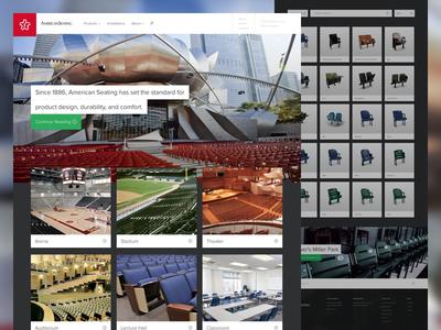 American Seating Furniture grand rapids furniture american seating web responsive ui ux