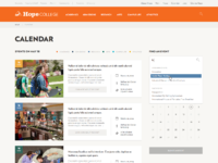 7c calendar searching