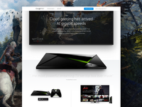 Google Fiber + NVIDIA Shield