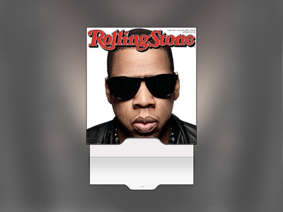 Thumbnail Slide interface ui clean slider pull tab jay-z portfolio
