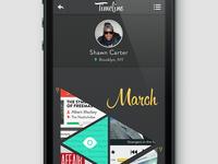 Timeline App (practice)