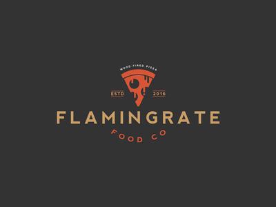Flamin Grate Food Company Logo