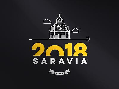 Saravia Crest - Fashion T-Shirt Design brand ui t-shirt crest stamp fashion design