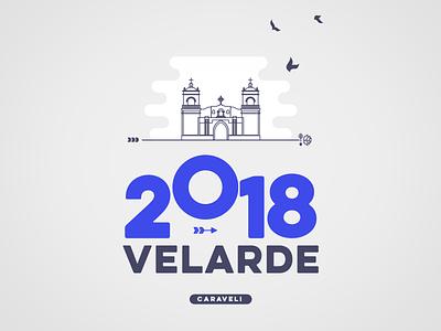 Velarde 2018 T-Shirt Design ui t-shirt stamp fashion design crest brand