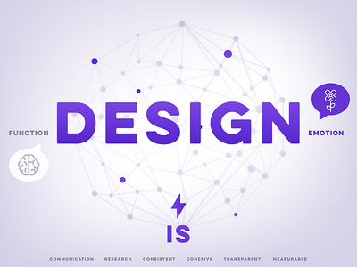 Design IS ui poster brand assets