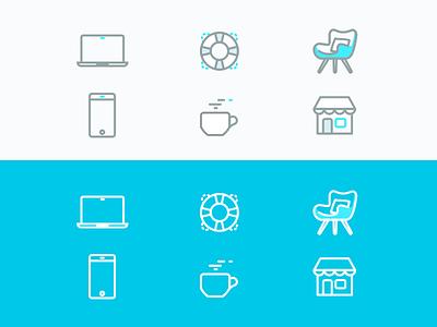 FAQ  Knowledge Base - Icons knowledge base kb faq icons ui