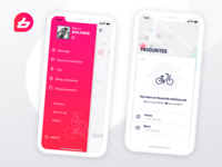 Bike Sharing App Concept - BIXI like