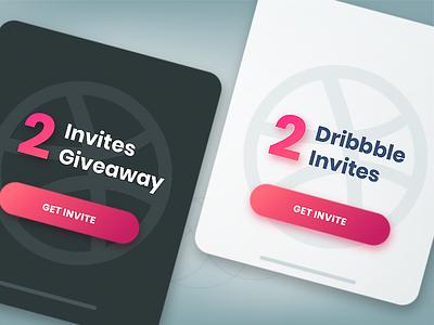 Dribbble Invites Giveaway ux motion ui ux design design system brand illustration logo vector design ui