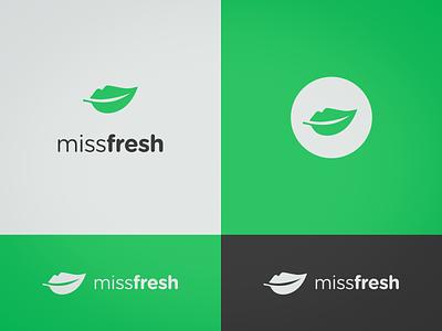 MissFresh logo logo design logo branding