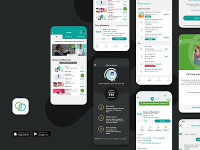 Carebook Healthcare platform design system ux design ui ux