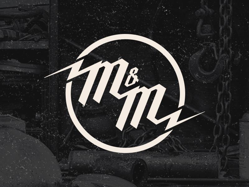 M Amp M Logo By Nick Pascuzzi Dribbble Dribbble