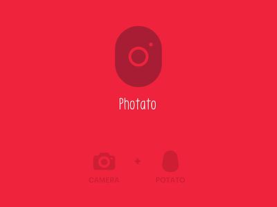 Photato - Logo Design logo branding design branding logodesign icon minimal flat logo design illustrator vector
