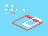 What's a modern app