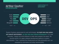 Curriculum: web view