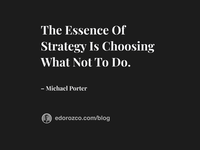 The Essence designisthestrategy