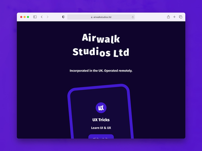 Company website redesign webdesign animation ux ui branding