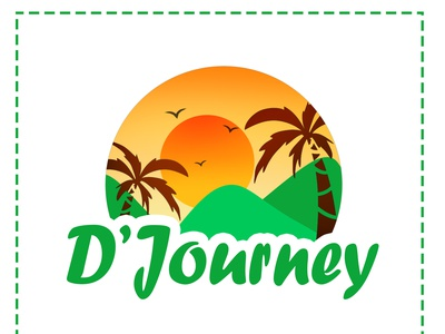 Traveling Logo logomaker logos animeart chibiart green traveling logo