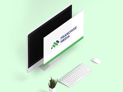 Rebranding — Franchise Media clean rebranding design logo branding