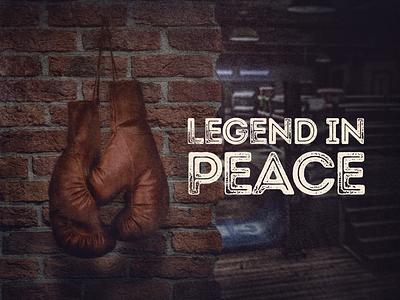 RIP - Muhammad Ali poster muhammad ali legend rip