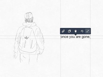 Sketched with Concepts App pencil sketch concepts app finger sketch