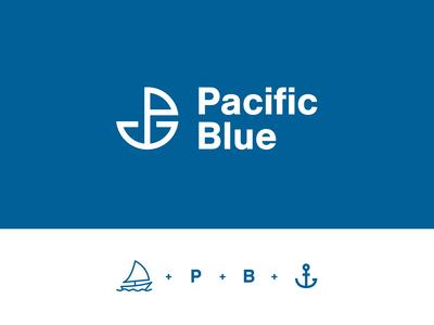Pacific Blue - Branding