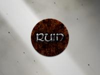 Spiralchain The Board Game - Ruin Token