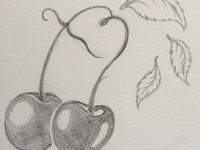 Cheeky Cherries Sketch