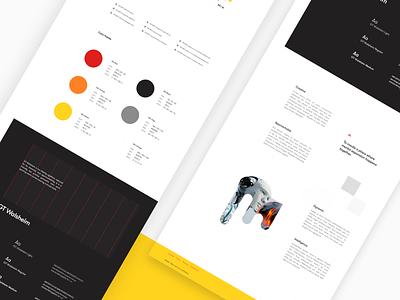 Brand Guidelines webflow material ui8 sketchapp material up logo visual branding style style guide guide guidelines brand ui sketch
