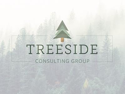 Treeside Consulting Logo logo branding design