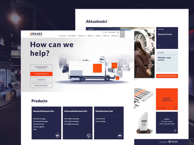 PEKAES - corporate website redesign ui ux corporate design redesign website design website web
