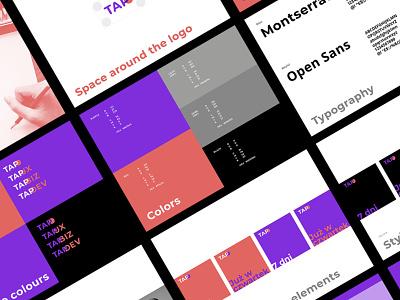 TAP - branding typography logotype branding