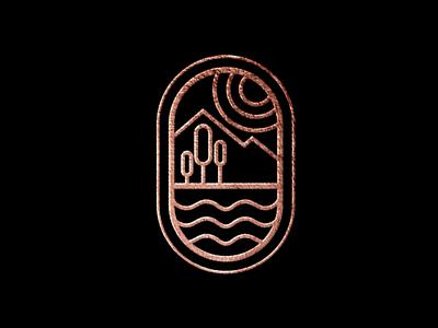 montain luxury logo web illustrator vector typography logo illustration icon design branding app