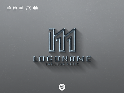 letters logo ux vector ui typography illustration icon design app logo branding