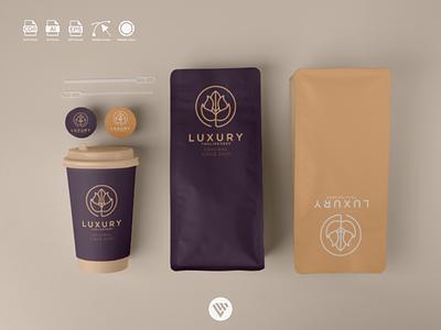 FLOWER LOGO ux vector ui typography illustration icon design app logo branding