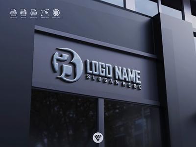 Letters B logo logotype letters ux vector ui typography illustration icon design app logo branding
