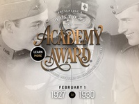 Academy Award - Type Treatment