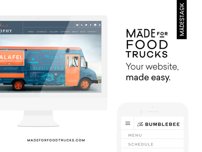 Made For Food Trucks - Now Live!