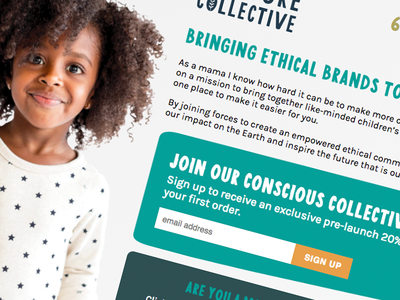 Exciting Times design ethics fashion website ethical