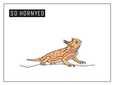 Day 18 – Horned Lizard lowpoly geometric design fashion animal lizard illustration 30daychallenge