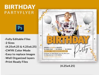 Birthday Party Flyer election celebration americans night birthday birthday party flyer party flyer birthday flyer
